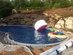 Pool installation project