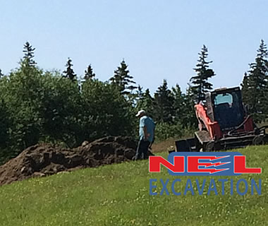 NEL Excavation septic systems