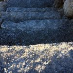 Stone stairs project