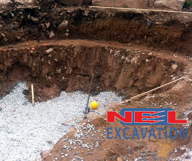 NEL Excavation excavation and trucking